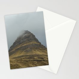 Kirkjufell in Fog Stationery Cards