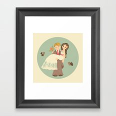 EVER AFTER II Framed Art Print