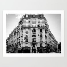 facade Art Print