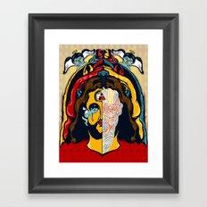 Anatomy of Jesus Framed Art Print