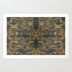 Stalagmites Version 2 Art Print