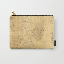 Vintage Map of Alexandria VA (1864) Carry-All Pouch