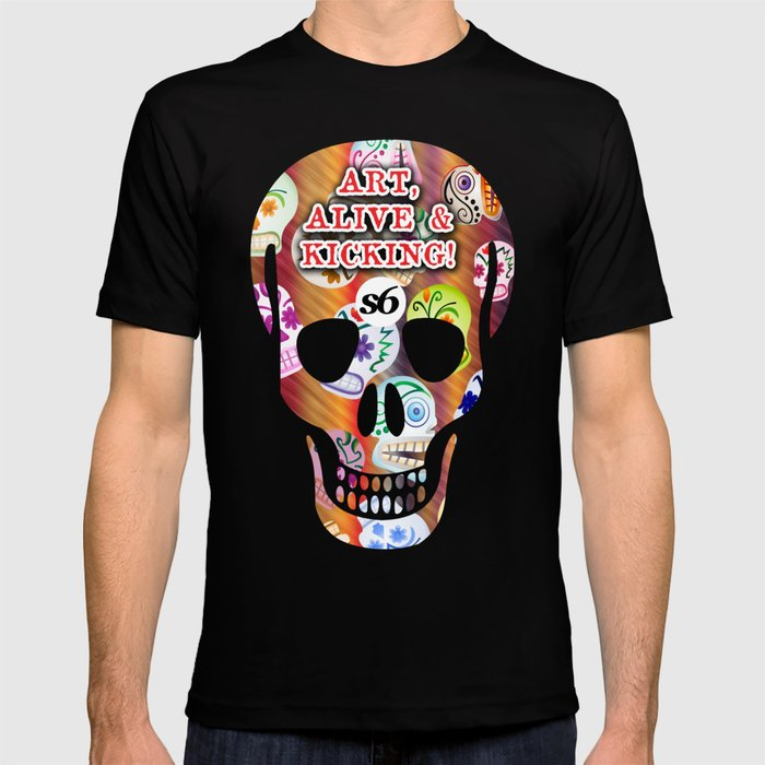86 Mob of Skulls v2 3300 x 5100 S6 TEE  T-shirt