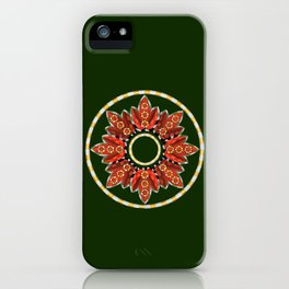 Ring Around the...buds and leaves iPhone Case