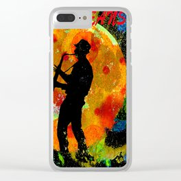 New Orleans JAZZ Clear iPhone Case