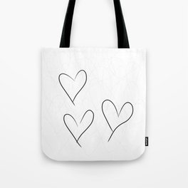 from the Heart - von Herzen Tote Bag