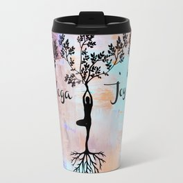 Yoga Joy Travel Mug