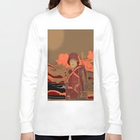 soldier Long Sleeve T-shirts featuring Soldier ( drawing) by Joe Ganech