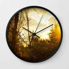 South By Southwest Wall Clock