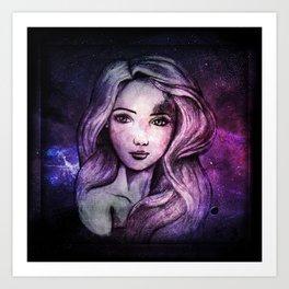 Ella Galaxy Art Print