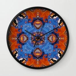 Kap Kaleidoscope Abstract 01 Wall Clock