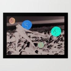 1 3 4 5 Art Print