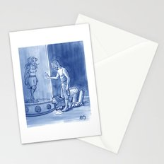 Victor and Nora, Mr. Freeze's Heart of Ice Stationery Cards