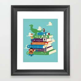 Toy Stories Framed Art Print