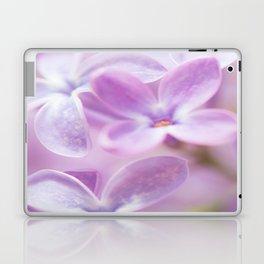 Lovely Lilac Blossom Bokeh Background #decor #society6 #buyart Laptop & iPad Skin