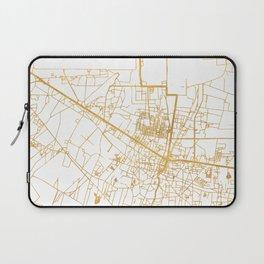 SIEM REAP CAMBODIA CITY STREET MAP ART Laptop Sleeve