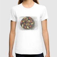 snake T-shirts featuring Snake by Michelle Behar