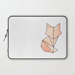 Geometric Fox - Orange Laptop Sleeve