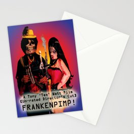 Frankenpimp (2009) - Movie Poster Stationery Cards