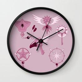 Cardcaptor Keys Wall Clock