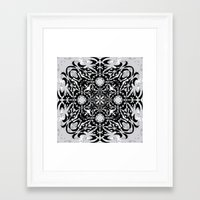 gothic Framed Art Prints featuring Gothic by Ornaart