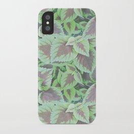 CAMOFOLIAGE iPhone Case