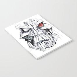 Futuristic Cyborg 7 Notebook