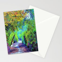 The Path. Landscape. © J&S Montague. Stationery Cards