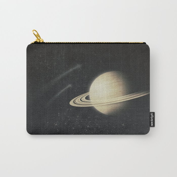 Deep Black Space Carry-All Pouch