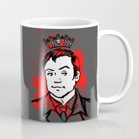 crowley Mugs featuring Crowley Is Our King by Nikki Homicide