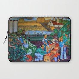 Coit Tower 'Orange Grove mural,' San Francisco, California Laptop Sleeve