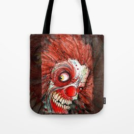zombie clown Tote Bag