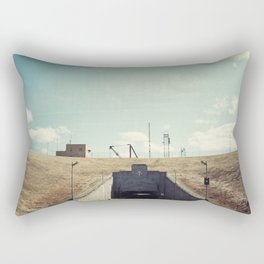 the dwight d eisenhower lock Rectangular Pillow