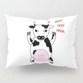 MooHooHaHa Pillow Sham