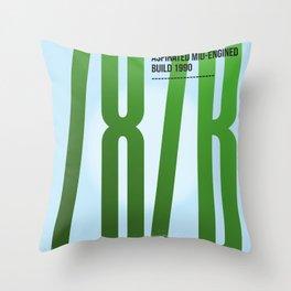 M 787B Tribute Throw Pillow