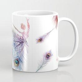 Peacock Dancer Coffee Mug