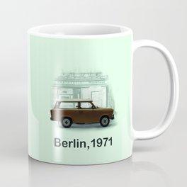 A Trabbi in Berlin Coffee Mug