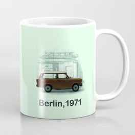 A Trabbi in Berlin Coffee Mug