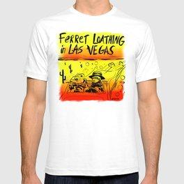 Ferret Loathing In Las Vegas T-shirt