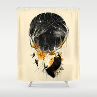 once upon a  time Shower Curtains featuring Once Upon a Time by nicebleed