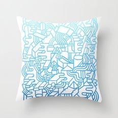 Wave Machine Throw Pillow