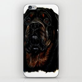 Male Rottweiler iPhone Skin