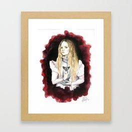 Love Makes Monster of Us All Framed Art Print