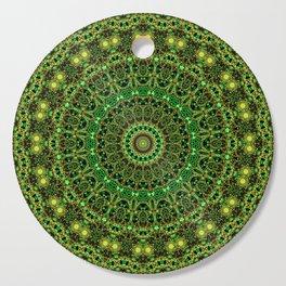Forest Light Mandala Cutting Board
