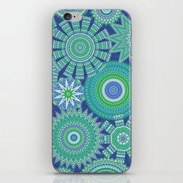 Kaleidoscopic-Oceania colorway iPhone Skin