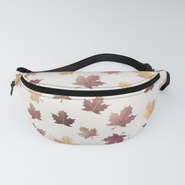Golden Fall Leaves Fanny Pack