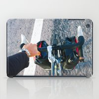 cycling iPad Cases featuring Cycling #1 by A. Serdyuk