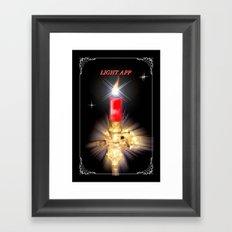 Light App. Framed Art Print