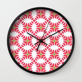 Red Jelly Wall Clock