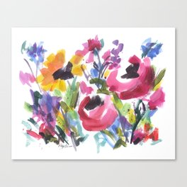 Wildflower Wild Canvas Print